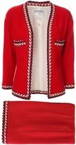 Chanel Pre Owned setup suit jacket skirt