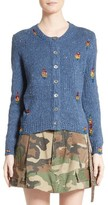 Marc Jacobs Women's Embellished Knit Cardigan