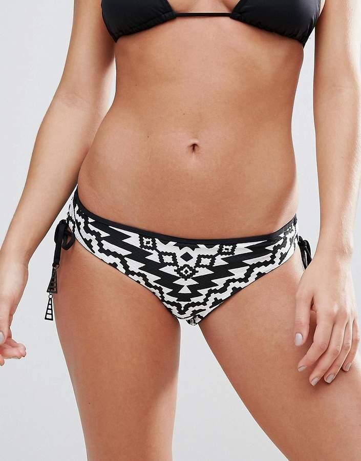 Seafolly Kasbah Tie Side Hipster Bikini Bottoms
