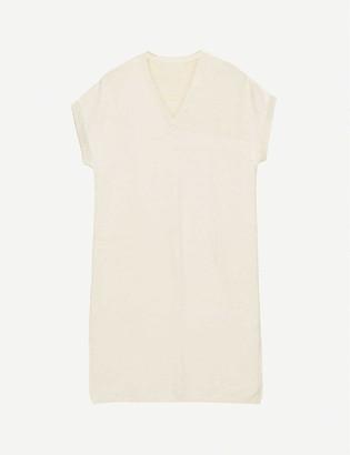 Juan stretch cotton-blend midi dress