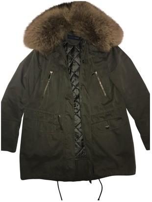 Trussardi Jeans Khaki Coat for Women