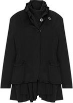 Barbara Speer Plus Size 2 Piece ruffle detail jacket set