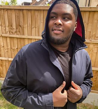 Tommy Hilfiger PLUS flex hooded jacket