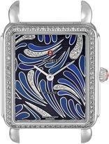 Michele Women's MW06X01A1074 Deco II Analog Display Swiss Quartz Silver Watch