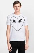 Comme des Garcons Large Heart Graphic T-Shirt
