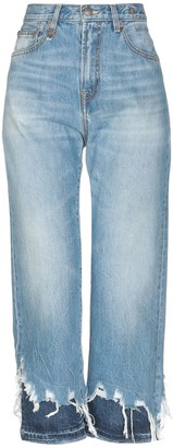 R 13 Denim pants - Item 42720652AH