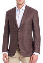 Canali Flecked Wool Blazer