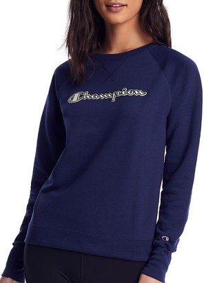 Champion Powerblend Boyfriend Crew Sweatshirt
