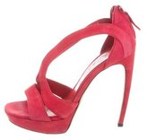 Alexander McQueen Multistrap Platform Sandals