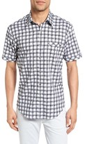 James Campbell Men's Rogen Plaid Sport Shirt