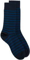 John Smedley striped knit socks