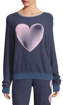 Wildfox Couture Faded Love Graphic Sweatshirt