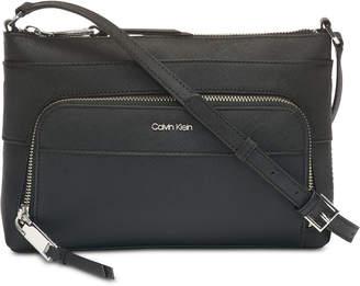 Calvin Klein Lily Saffiano Leather Crossbody