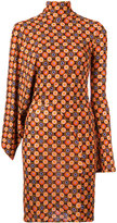 Givenchy geometric print dress - women - Viscose - 38
