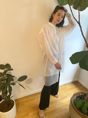 Dé Moo Sheer Long Shirt