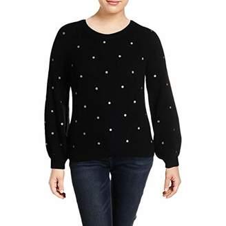 Lucky Brand Women's Polka DOT Pullover Sweater