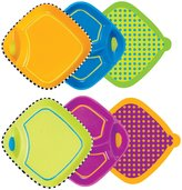 Sassy Dippin' Diner Plate Set - Multicolor