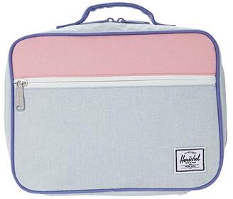 Herschel Supply Co. Kids Pop Quiz Lunch Box (Little Kids/Big Kids) (Ballad Blue Pastel Crosshatch/Candy Pink/Dusted Peri) Bags