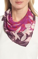 Halogen Women's Floral Square Scarf