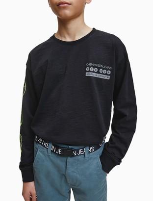 Calvin Klein NYC-Inspired Long Sleeve T-Shirt
