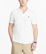 Polo Ralph Lauren Custom-Fit Mesh Henley Short-Sleeve Tee
