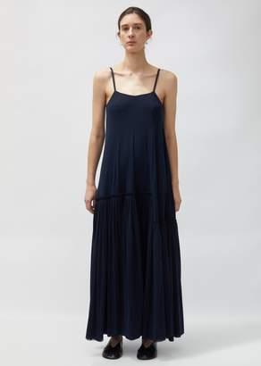 Jil Sander Long Crepe Slip Dress