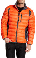 Free Country Microtech Fleece Paneled Down Jacket