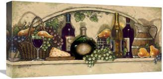 N. Global Gallery Wine, Fruit 'N Cheese Niche By Janet Kruskamp