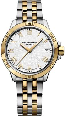 Raymond Weil 30mm Tango Two-Tone Stainless Steel Bracelet Watch