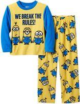 Boys' Minion 2-Piece Pajama Set