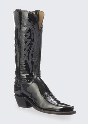 Lucchese Dee Shiny Western Knee Boots