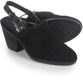 Aerosoles Vitamin Open-Back Clogs - Nubuck (For Women)