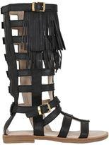 Florens Fringed Gladiator Sandals