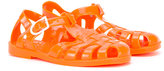 Armani Junior logo jelly sandals - kids - rubber - 21