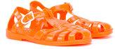 Armani Junior logo jelly sandals