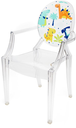 Kartell Kids Lou Lou Ghost Crystal Dinosaur Chair