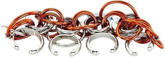 Chloé Multicolour Metal Rings