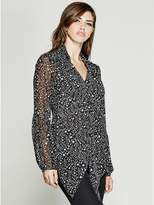 GUESS by Marciano Women's Seeing Stars Blouse