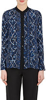 Proenza Schouler WOMEN'S MARRAKESH-PRINT SILK GEORGETTE BLOUSE