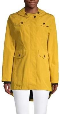 Pendleton Port Madison Hooded Cotton-Blend Raincoat