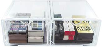 SORBUS Sorbus Acrylic 2 Column Cosmetic Organizer Drawer XL