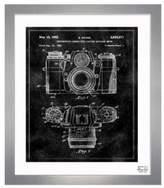 Oliver Gal Framed Sauer Camera 1962 Print