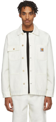 Carhartt Work In Progress White Michigan Jacket