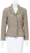 Chanel Tweed Linen-Blend Blazer