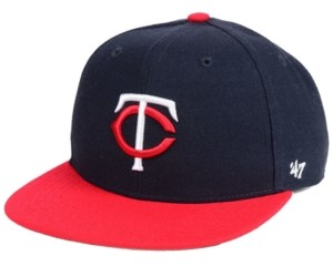 '47 Boys' Minnesota Twins Basic Snapback Cap