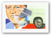 """McGaw Graphics President-Elect, 1960-61/64 by James Rosenquist 17.5""""x28"""" Art Print Poster"""