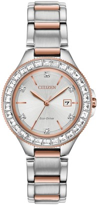 Citizen Eco-Drive Women's Silhouette Stainless Watch