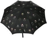 Alexander McQueen medieval print umbrella