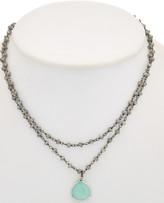 Rachel Reinhardt Silver Gemstone Necklace