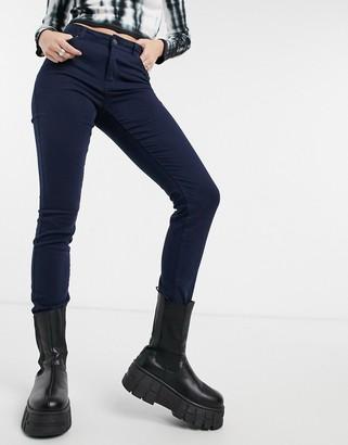 Vero Moda skinny jeans in navy